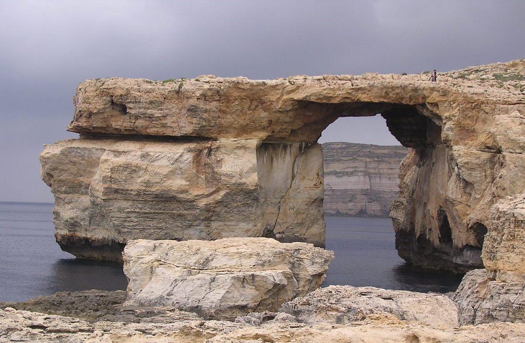 Isola di gozo finestra azzurra - Malta finestra azzurra ...