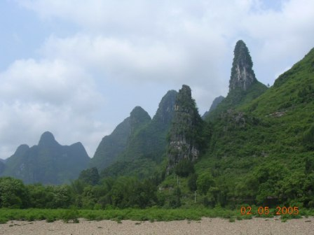 Le montagne di Guilin - The mountains of Guilin